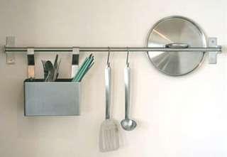 objetos decoração parede da cozinha