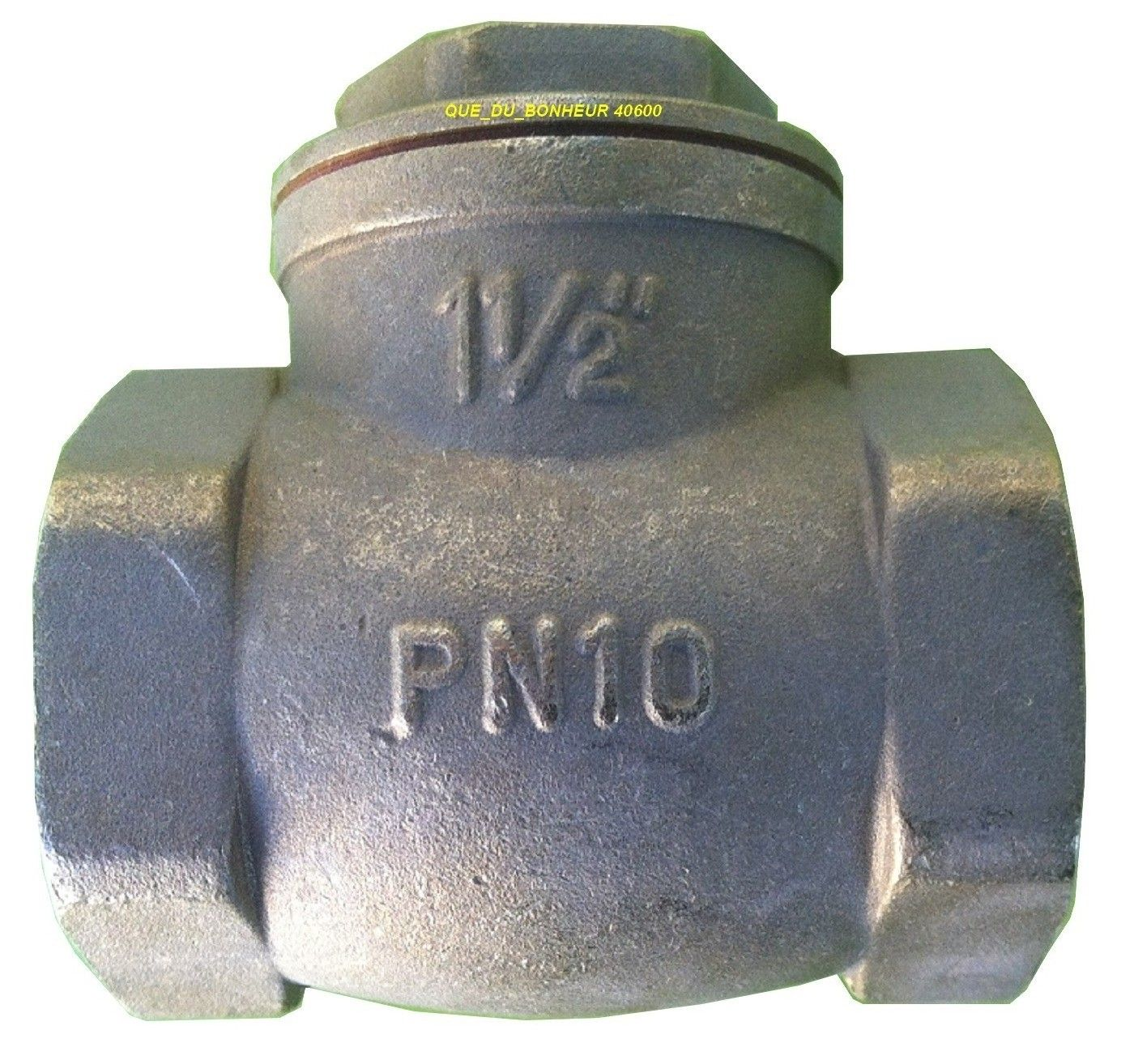 installation de vanne de retour d'eau s'il vous plaît aviser comment procéder